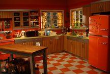 Floors / Tile, paint, concrete, wood, carpet, rugs / by Marina Berryman