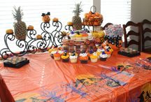 Halloween Celebration and Decoration  / Showcasing some ideas on how to decorate for a Halloween theme party! Happy scaring!!