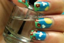 Nature Nail Art / by Rose Stumbaugh