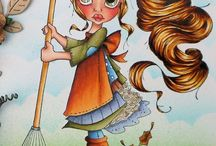 Copic and coloring / by Maja Jensen