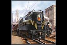 Choo! Choo! / Train and Locomotive Fabrics for your next project!