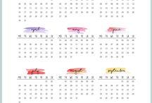 kalendarze/ plannery