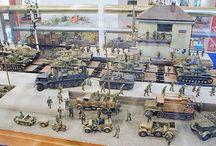 German WW2 Banhoff diorama (1:35 scale) / Banhoff