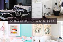Interior Inspiration   Art Ideas / Ideas for decorating your home with art prints. #wallart #artposters #artprints