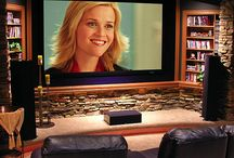Tv and movie center