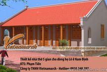 Thiết kế nhà thờ họ 5 gian - Vietnamarch. / Vietnamarch Thiết kế nhà thờ họ nhà thờ 5 gian cho dòng họ Lê thuộc huyện Nam Trực - tỉnh Nam Định. http://vietnamarch.com.vn/thiet-ke-kien-truc/thiet-ke-nha-tho-ho/nha-tho-ho-5-gian/