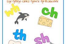 Digraphs / Resources for teachers to teach digraphs, which are two letters than make a new sound when together in a word. Digraphs are th, ch, sh, ph, and wh. These ideas are for prek, kindergarten, first grade, and second grade classrooms.