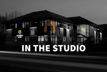 In The Studio / A collection of photos from the Creativeworld studio