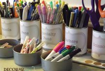 Organization:  Clear Your Clutter / Clear your clutter!  Here are some great DIY organization solutions. / by Mrs. Greene