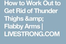 Exercises for Thigs and Arms
