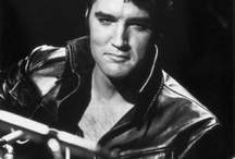 """i love Elvis / Elvis Aaron Presley January 8, 1935–August 16,1977.  """"As the snow flies, On a cold and gray Chicago mornin', A poor little baby child is born, In the ghetto. And his mama cries, Cause if there's one thing that she don't need, It's another hungry mouth to feed In the ghetto. People, don't you understand, The child needs a helping hand, Or he'll grow to be an angry young man some day. Take a look at you and me, Are we too blind to see. Do we simply turn our heads"""" And look the other way"""" 1969 / by Christine Whyte"""