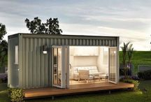 Container spaces