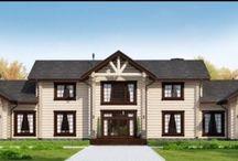 Проект дома в Колониальном стиле 592 м от компании Дачный Альянс / Срок строительства дома в Колониальном стиле 90 дней Цена из дерева от 11.000.000 руб Цена из камня от 10.000.000 руб