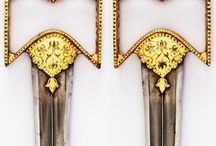 Indian daggers (Only historically accurate) / Indian daggers from the modern period, including: katar, pesh kabz, bichwa, khanjar, kard, chilanum, zafar takieh, jambiya, haladie, zirah, piha-kaetta, bagh nakh, moplah.