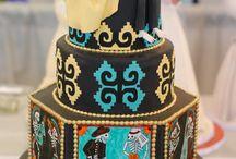 Spectacular Dia de Los Muertos  cakes / by marci allen