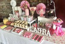 Mesas dulces comunión