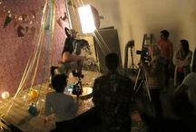 Producción en Bubble Studios día 1 / Gaby Herbstein + Mumm + Esmeralda Mitre