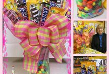 Candy Bouquets / A bunch of my own candy bouquet tutorials and pictures mixed with some other cool ideas I want to try! www.sparklebymonica.com