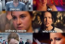 Hunger games, divergent