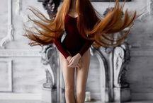 длинные волосы фотт