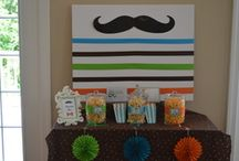 THEME Little Man Mustache and Tie