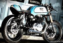 Honda CB400 café racer