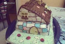 Házi készítésű fondant tortaim
