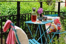 Patio and outdoor decorations / A board filled with ideas on how to make your patio or anywhere outdoors lovely / by Rughy H