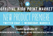 Twitter Chat Preview Picks - Spring 2017 / A selection of this seasons most exciting new styles as presented by our 2017 Style Spotters in the High Point Market New Product Premier Twitter Chat. To join the chat, follow #HPMKT on Twitter Wednesday, March 8, 6pm ET