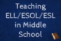 Teaching ELL/ESOL/ESL in Middle School / Strategies for teaching students learning English in Middle School!