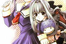 Karin et anju avec boogie / Chibi vampire