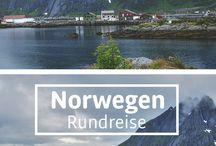 Skandinavien Rundreise / Skandinavien Rundreise durch Norwegen und Schweden mit dem Camper: Fjorde und schöne Landschaft entdecken, Natur genießen und Reise planen.