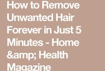 unwanted hair