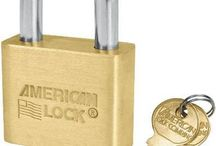 Padlock 1-3/4 solid brass body key alike
