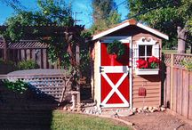 Little Sheds / Cedarshed offers amazing little shed kits for backyard storage and gardening. Visit us: Cedarshed.com