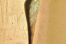 Figura Humana abstracta - Escultura