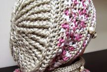 Knitted berets
