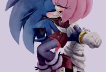 sonic and amy