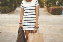 Striped Fashion / Striped Dress - Fashion  moda, fashion, vestidos, listras, trend