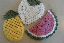 Crocheting / For having fun whilst making something you like.