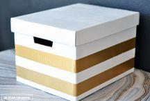 A Banker Box