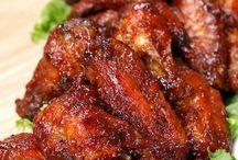 Barbecue kuře
