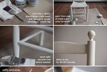 Chalk Painted Furniture Tutorial