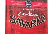 Cordes Savarez / Les cordes de guitare Savarez