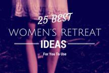 Woman retreat