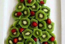 Christmas food trees