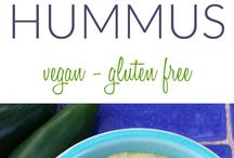 Hummus Creations / Hummus recipes in all different forms and flavors.