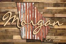 Custom Printed Pallet Wall Decals / by Clay Apple