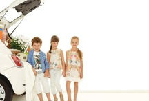 Roberto Cavalli Junior / Girly shapes and pretty colorful prints for the ladies, denim and casual outfits for the boys. A comfortable yet fashionable style for the Roberto Cavalli Junior SS 2013 collection. Because in the end, kids just wanna have fun!