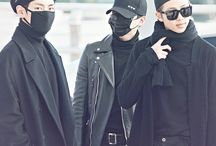 bts airport & music shows looks
